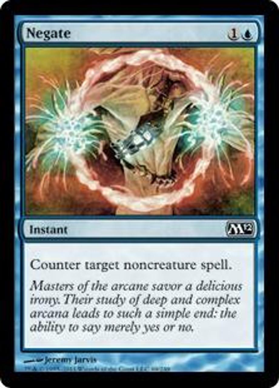 MtG Magic 2012 Common Negate #69