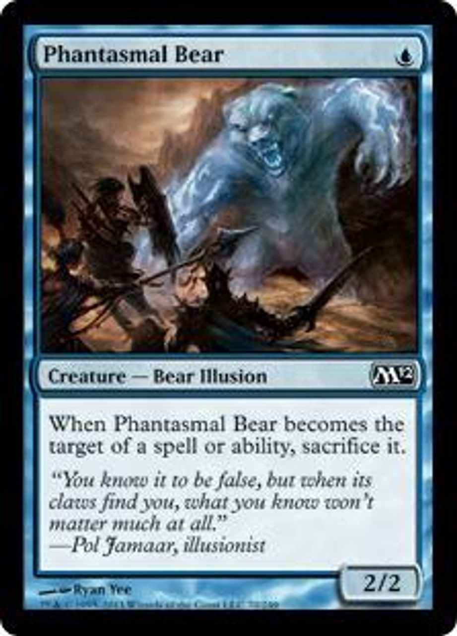MtG Magic 2012 Common Phantasmal Bear #70