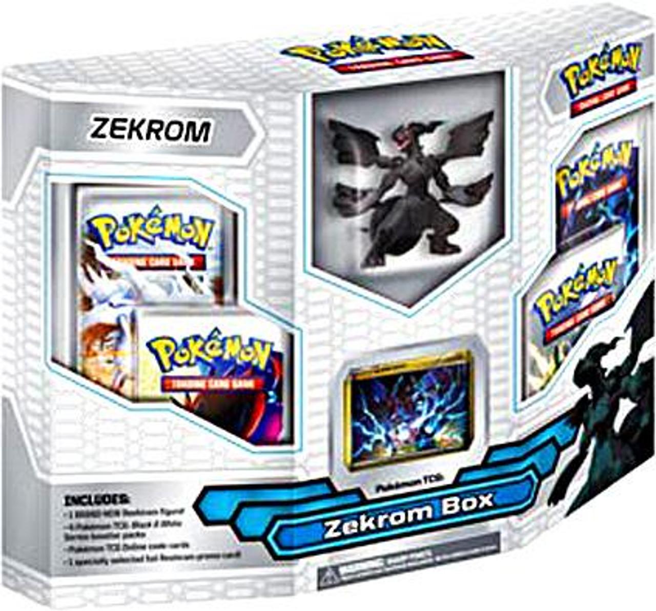 Pokemon Black & White Emerging Powers Zekrom Box