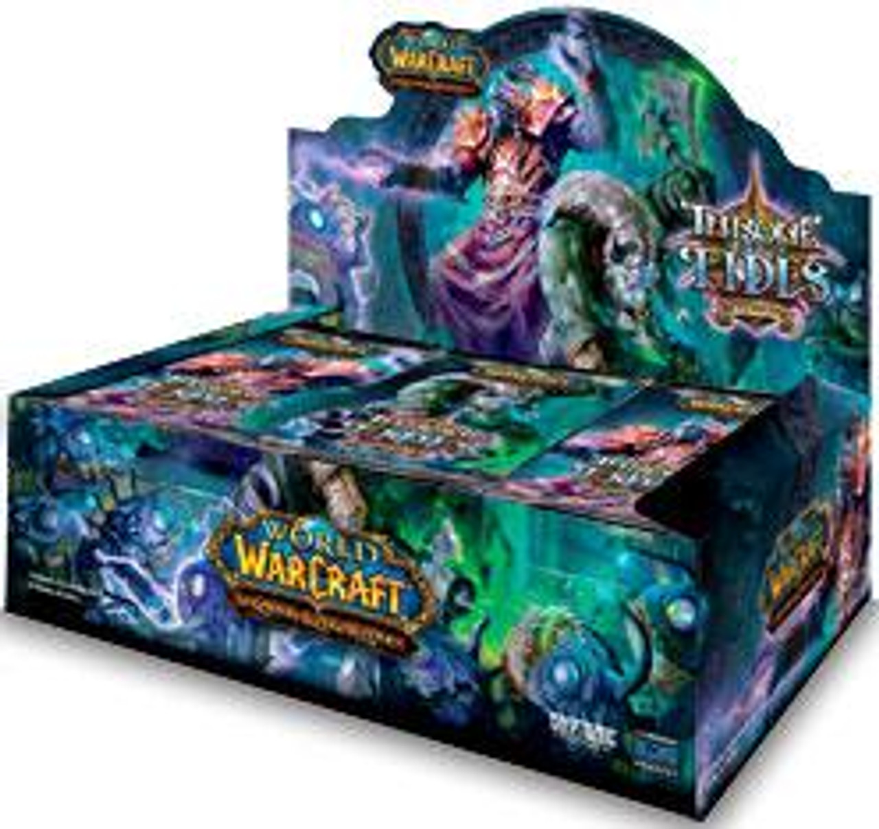 World of Warcraft Trading Card Game Throne of the Tides Booster Box [36 Packs]