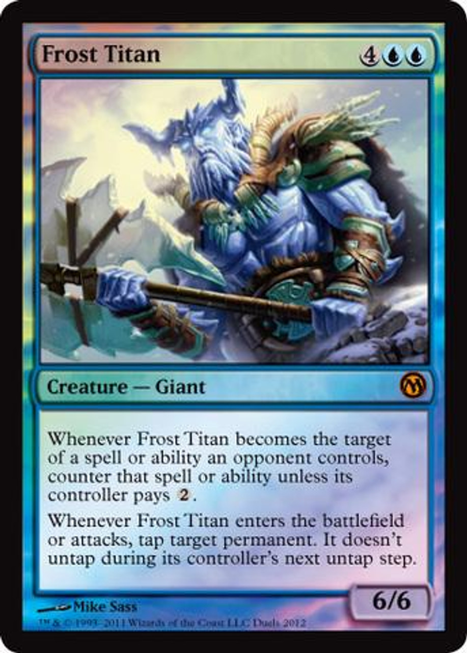 MtG Assorted Promo Cards Promo Frost Titan [Duels of the Planeswalkers 2012 Steam Promo]