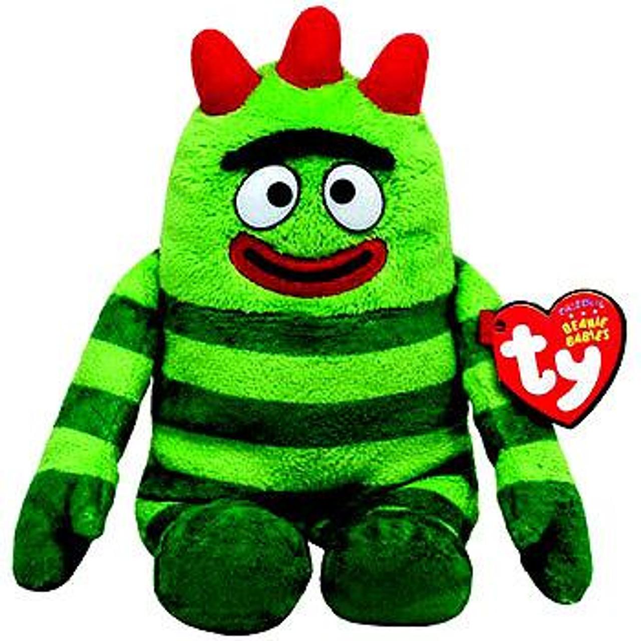Yo Gabba Gabba Brobee Beanie Baby Plush