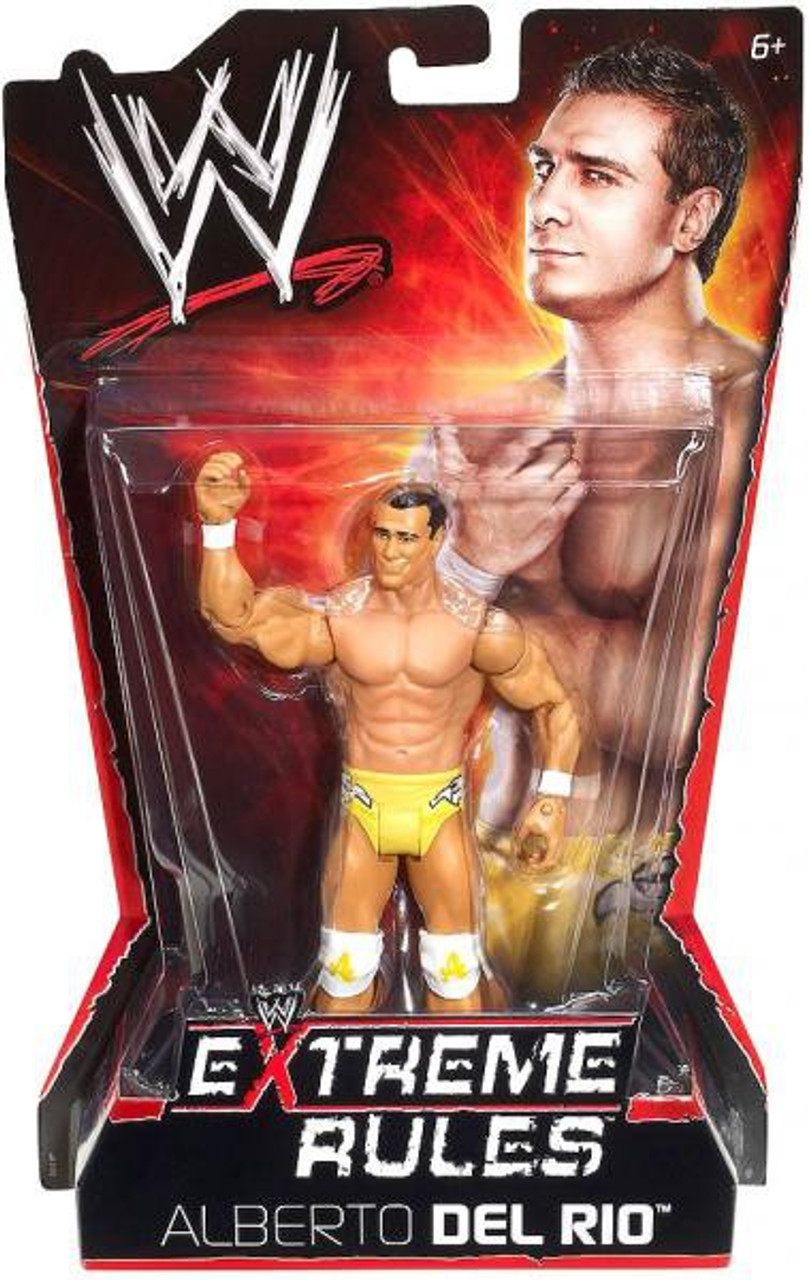 WWE Wrestling Extreme Rules Alberto Del Rio Action Figure