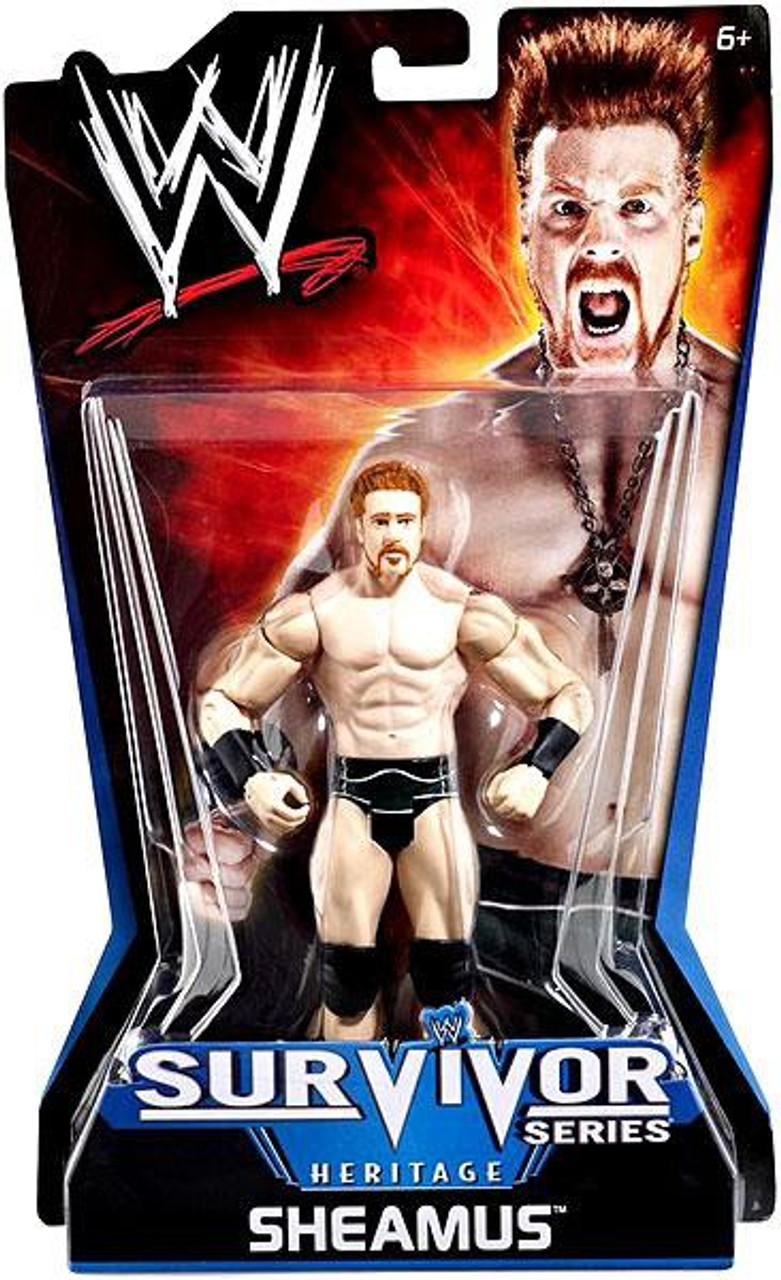 WWE Wrestling Pay Per View Series 11 Survivor Series Heritage Sheamus Action Figure