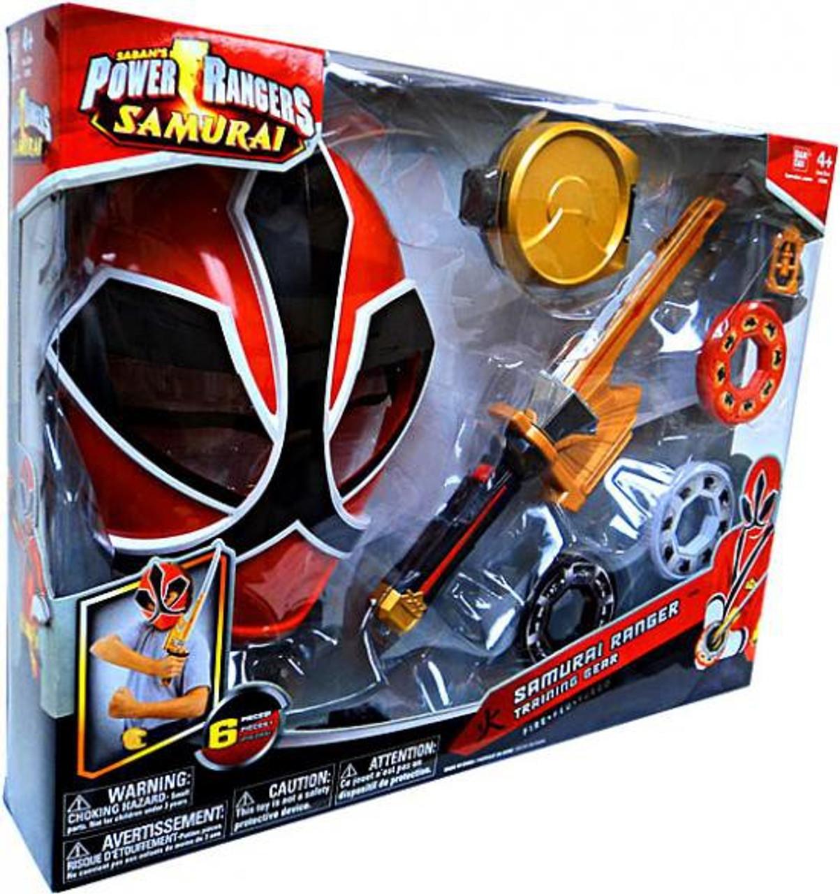 Power Rangers Samurai Ranger Training Gear Roleplay Toy