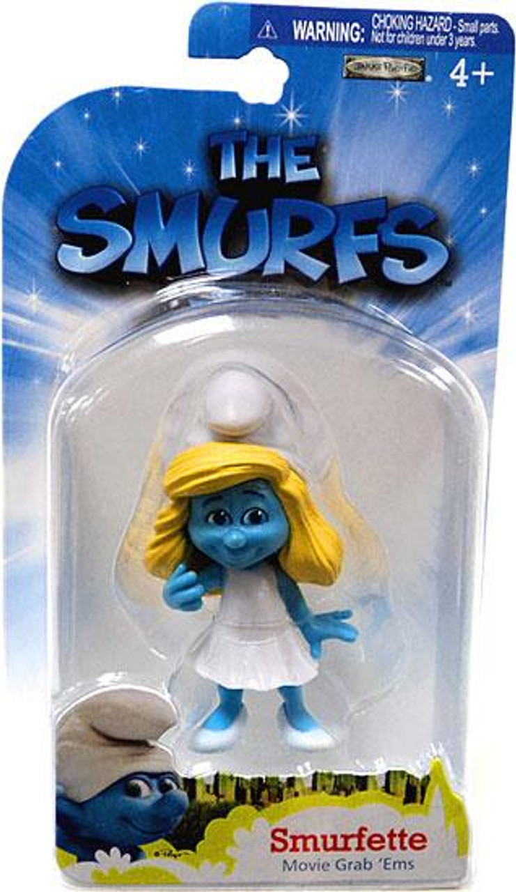 The Smurfs Movie Grab 'Ems Smurfette Mini Figure