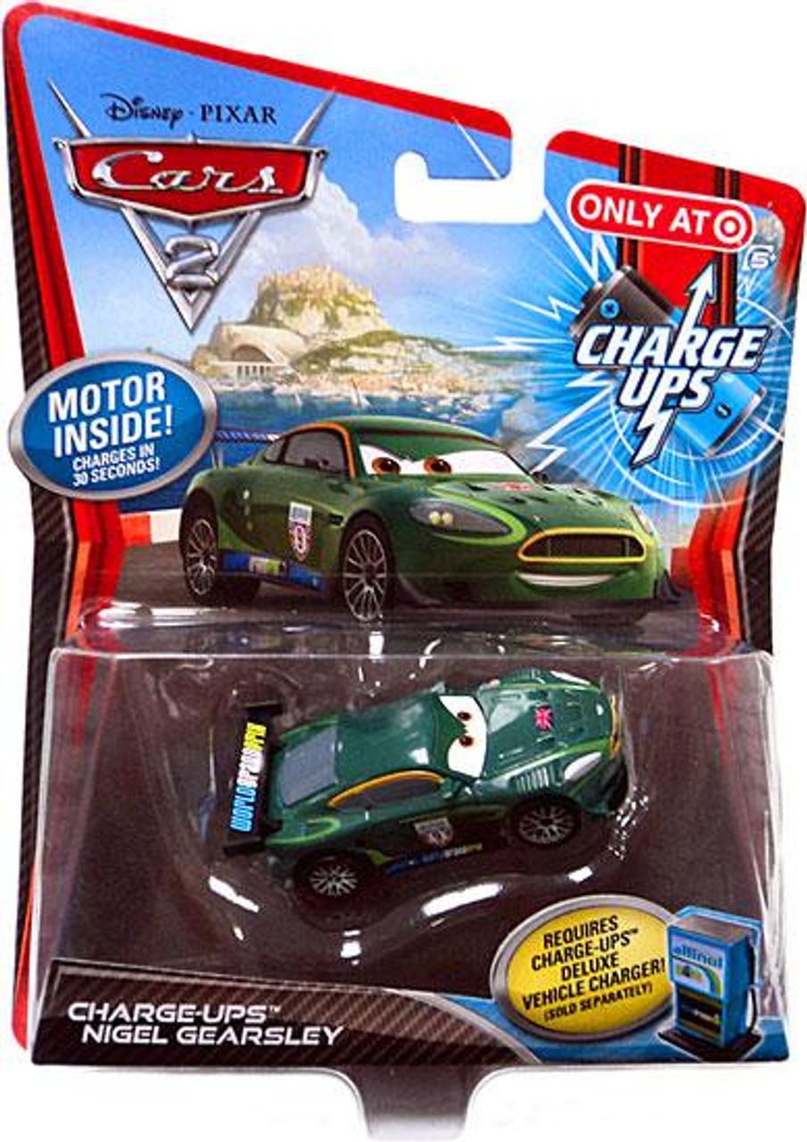 Disney Cars Cars 2 Charge Ups Nigel Gearsley Exclusive Diecast Car