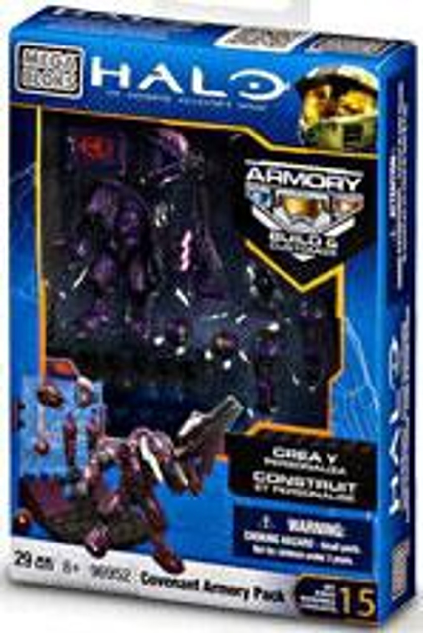Mega Bloks Halo The Authentic Collector's Series Covenant Armory Pack Set #96952