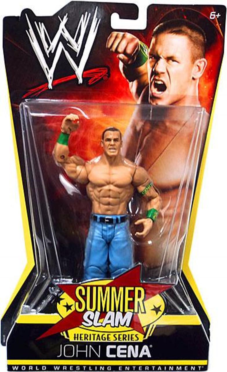 WWE Wrestling Summer Slam Heritage Series John Cena Action Figure