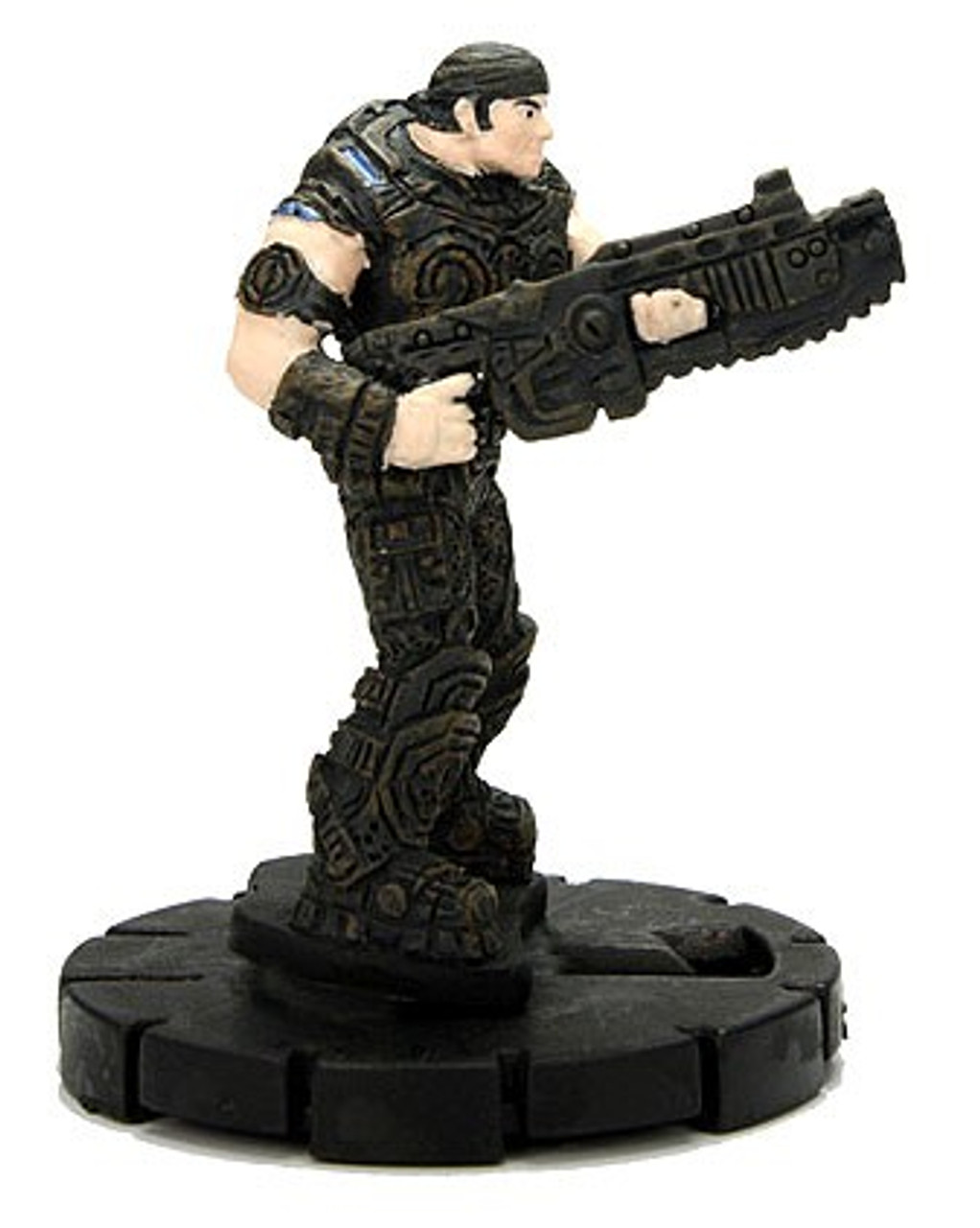 Gears of War 3 HeroClix Marcus Fenix #001
