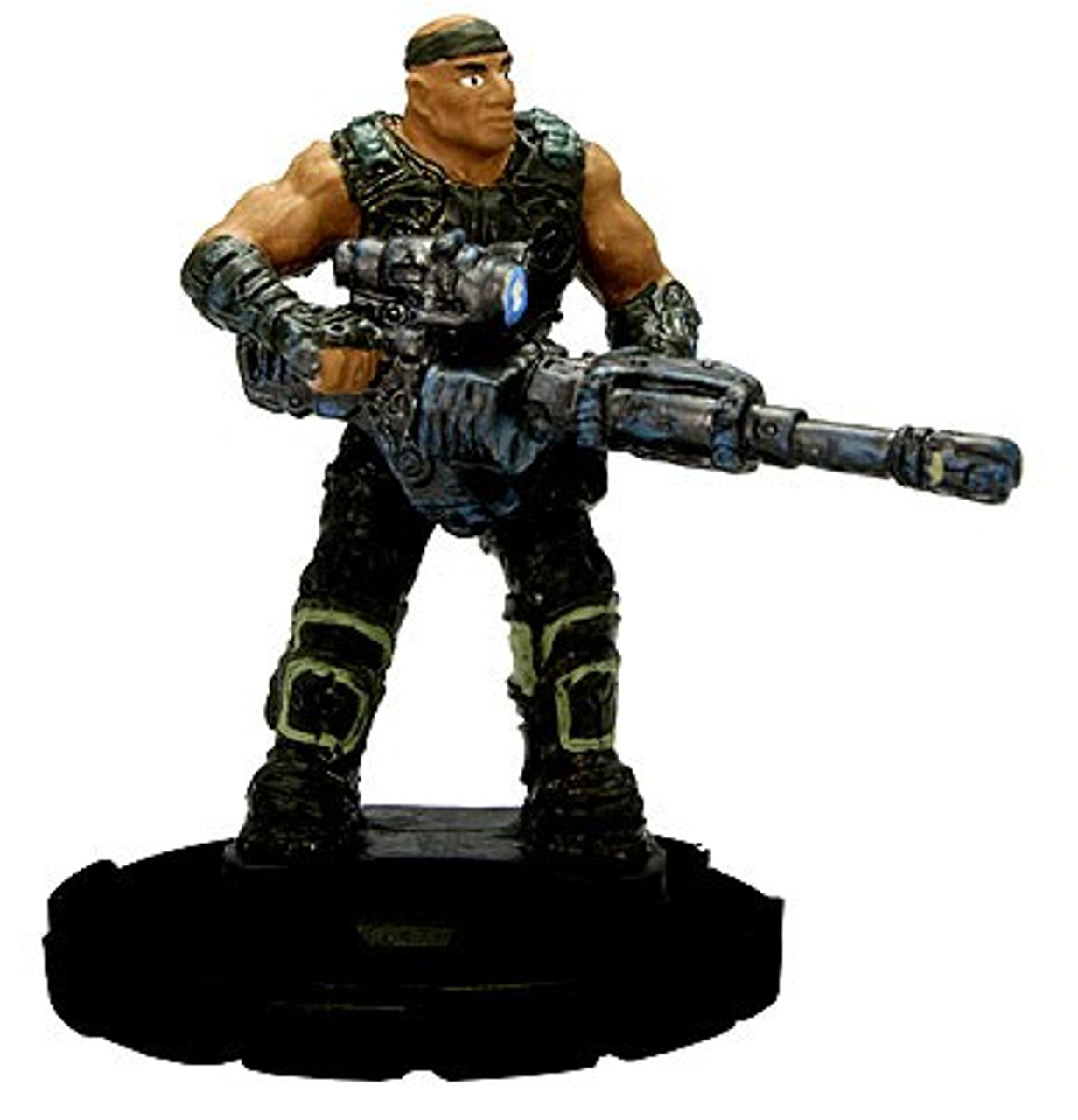 Gears of War 3 HeroClix Augustus Cole #003