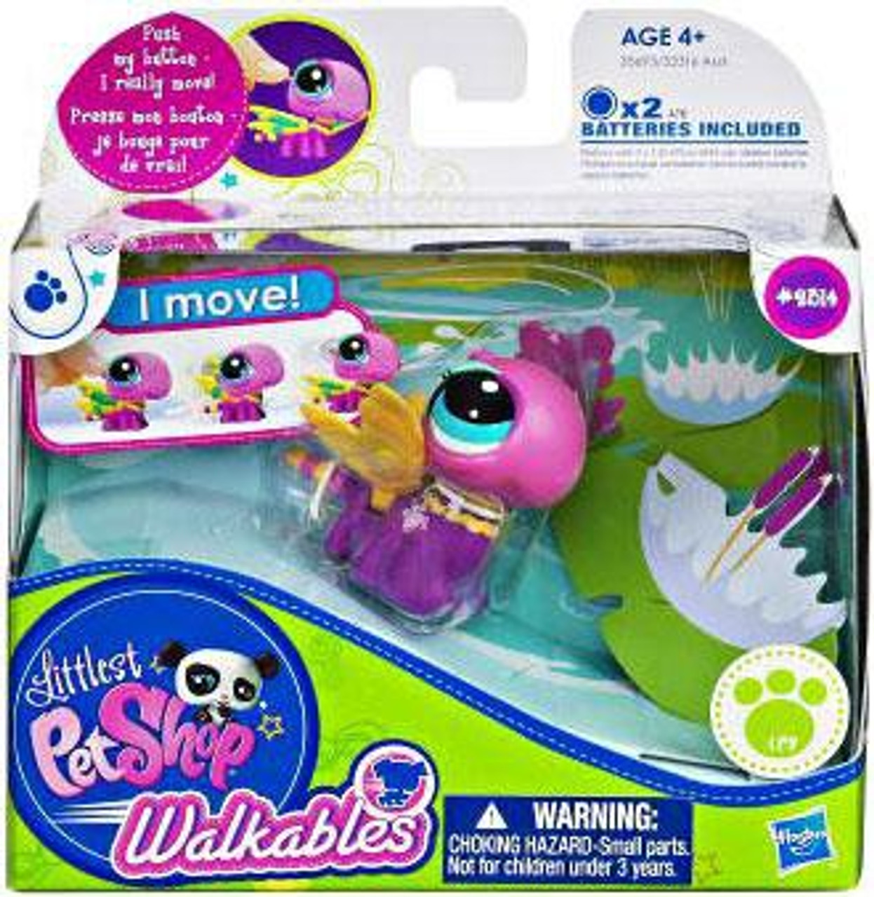 Littlest Pet Shop Walkables Dragonfly Figure #2314