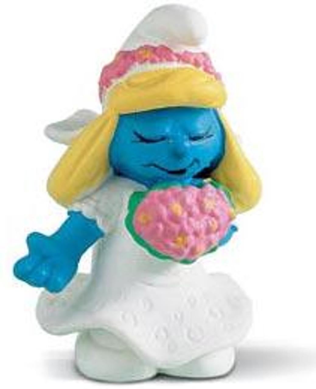 The Smurfs Bride Smurf Mini Figure