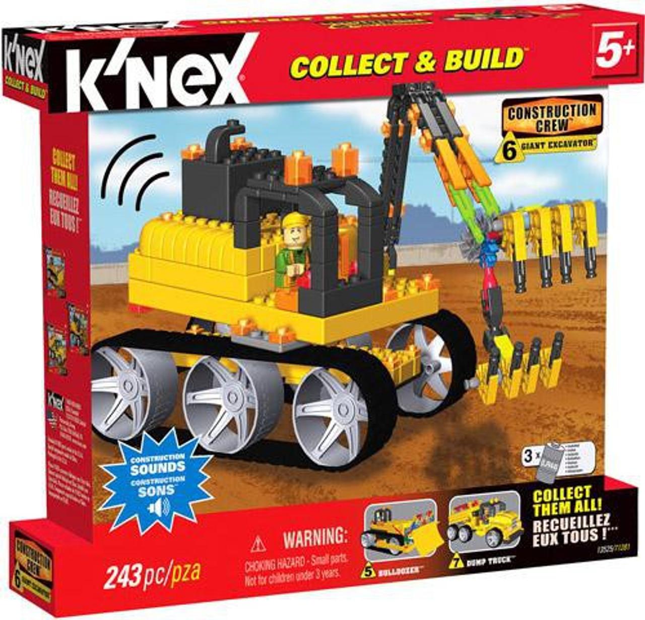 K'Nex Construction Crew Giant Excavator Set #13525