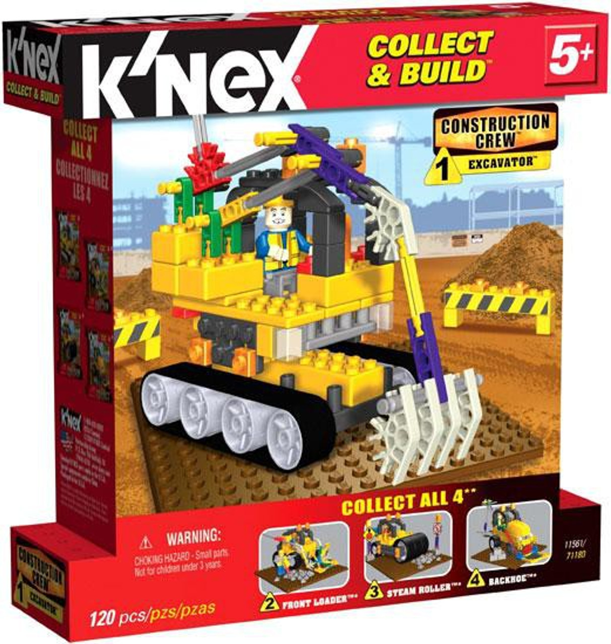 K'Nex Construction Crew Excavator Set #11561