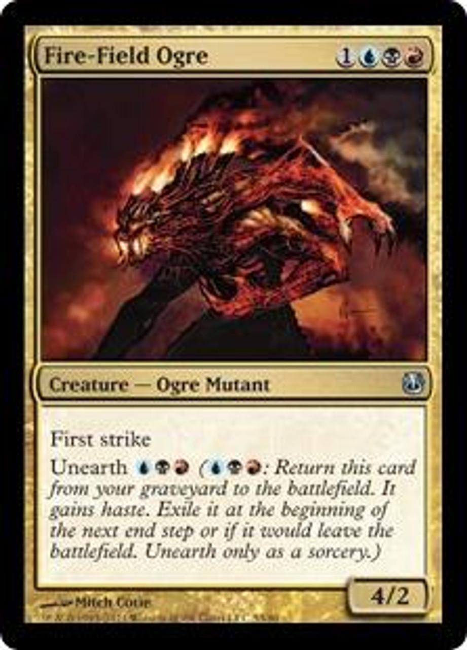 MtG Duel Decks: Ajani vs. Nicol Bolas Uncommon Fire-Field Ogre #53