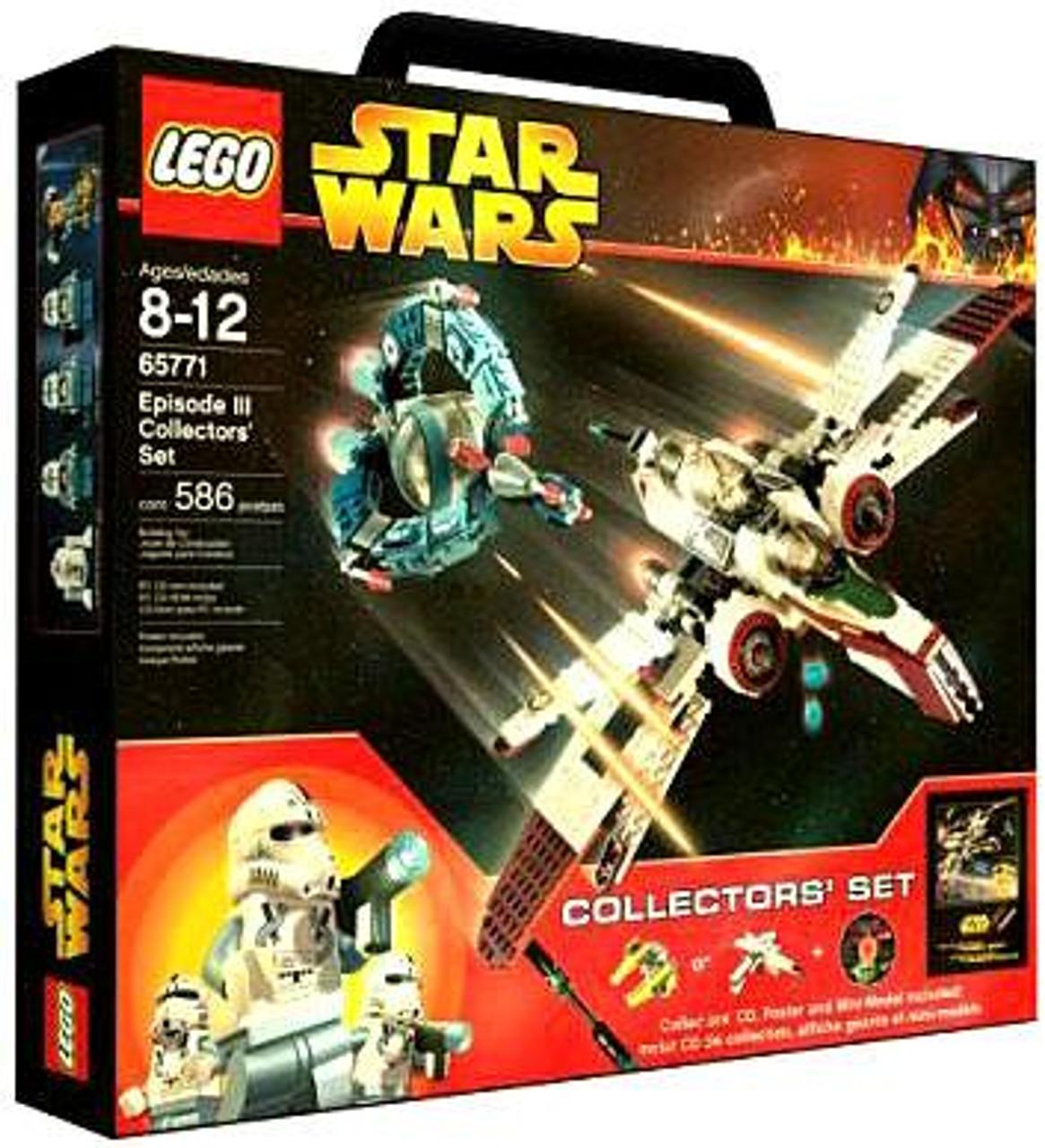 LEGO Star Wars Revenge of the Sith Episode III Collectors' Set #65771