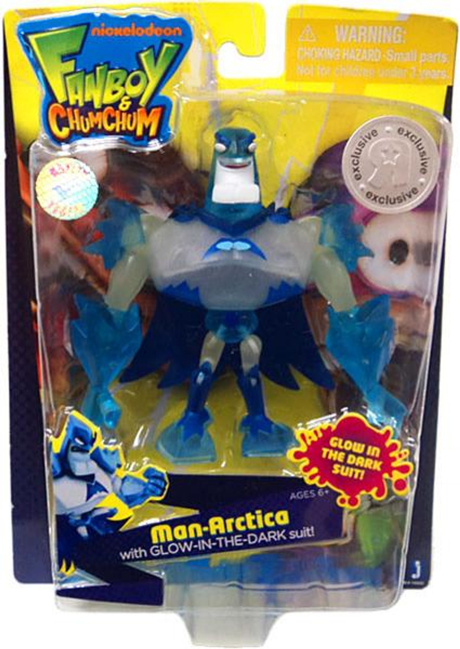 Fanboy & Chum Chum Man-Arctica Exclusive Action Figure