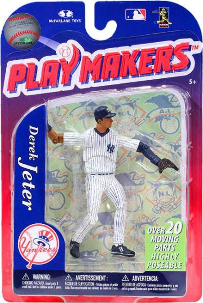McFarlane Toys MLB New York Yankees Playmakers Series 3 Derek Jeter Action Figure