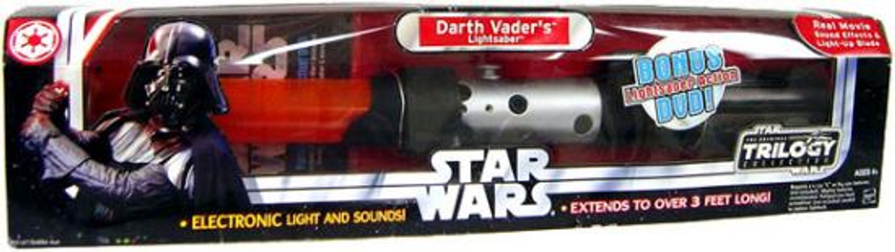 Star Wars Darth Vader Electronic Lightsaber [Damaged Package]
