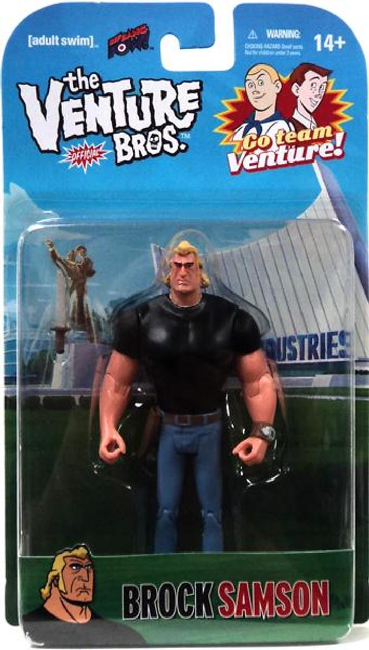 The Venture Bros. Series 1 Brock Sampson Action Figures