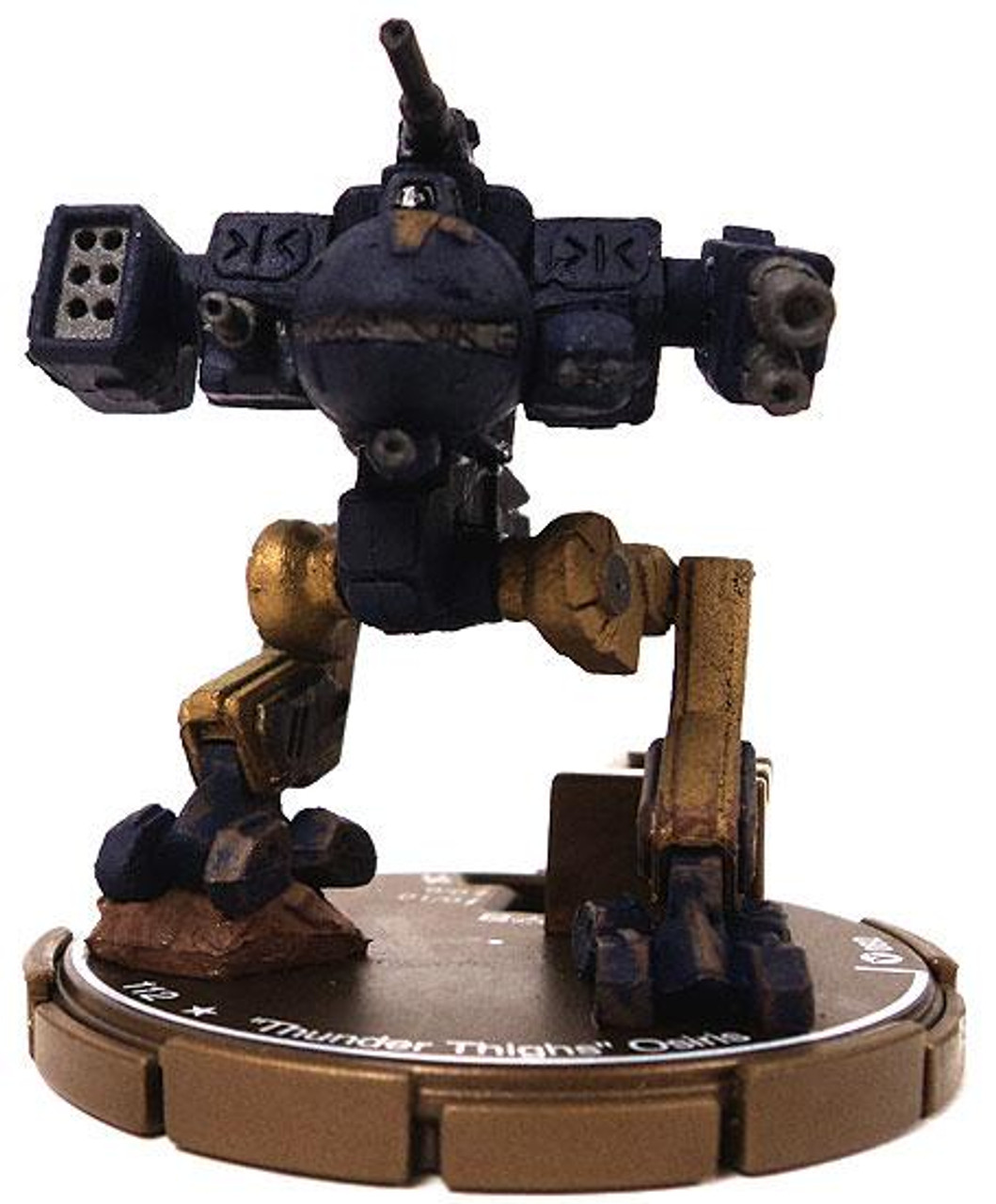 "MechWarrior HeroClix ""Thunder Thighs"" Osiris #82"