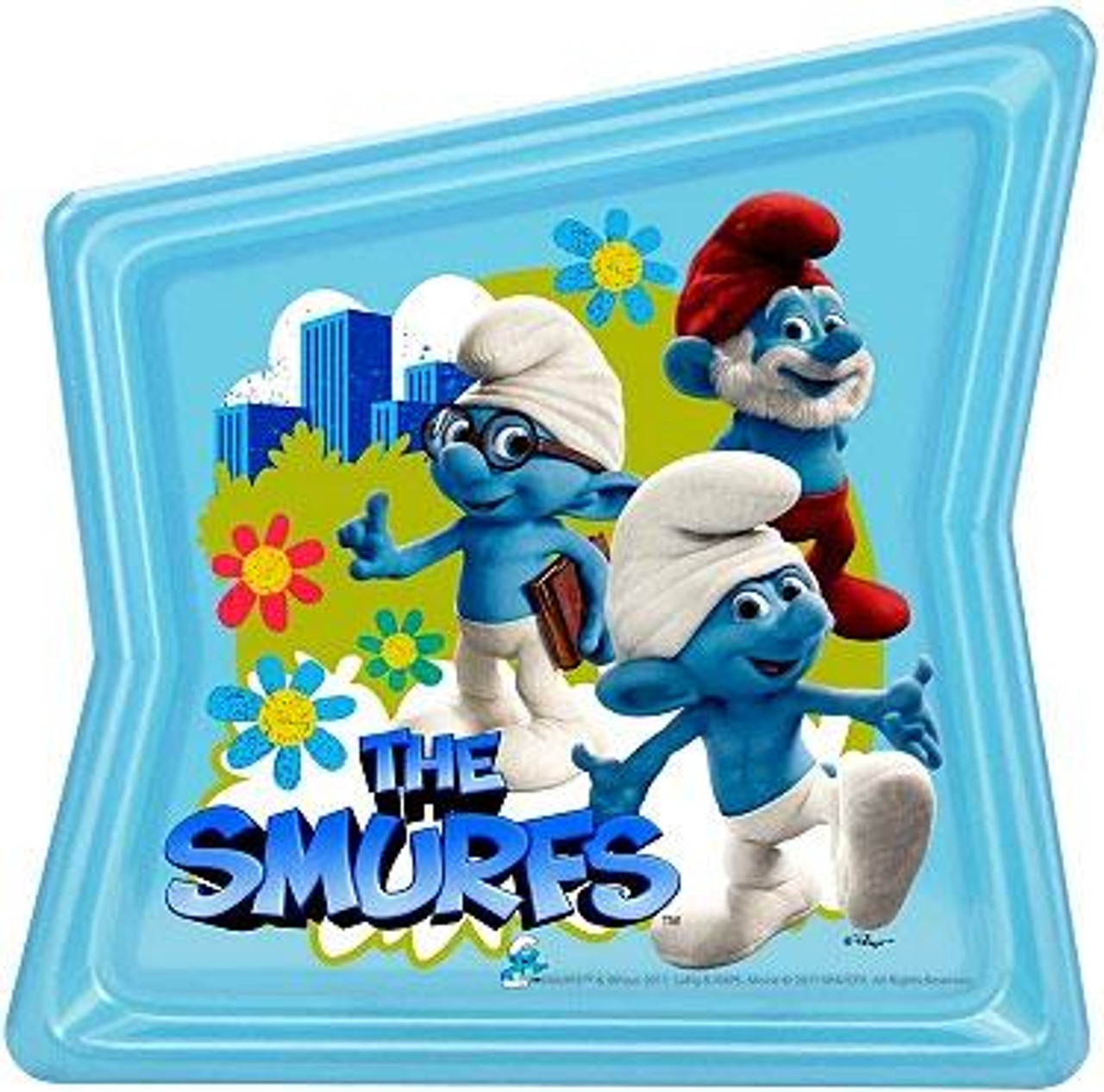 The Smurfs Movie Pearl Plate