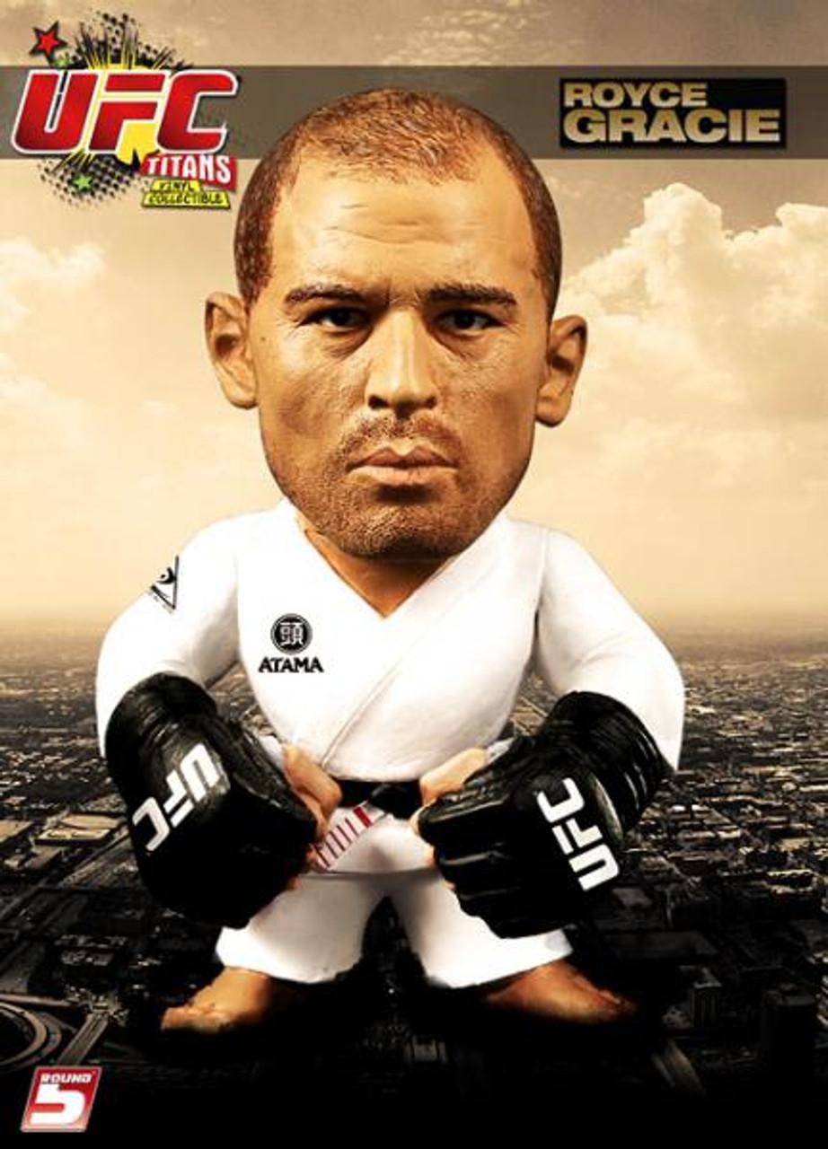 UFC Titans Royce Gracie Vinyl Figure [White Gi]