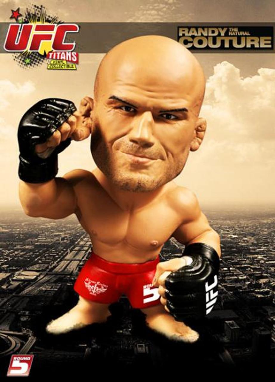 UFC Titans Randy Couture Vinyl Figure [Red Shorts]