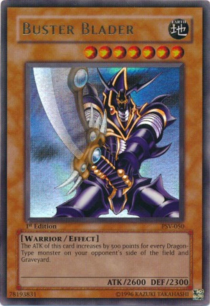 YuGiOh Pharaoh's Servant Ultra Rare Buster Blader PSV-050