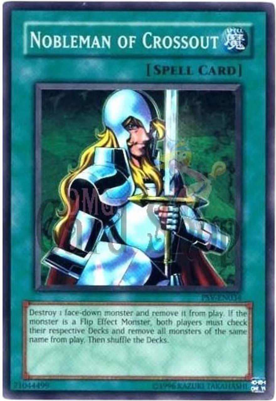 YuGiOh Pharaoh's Servant Super Rare Nobleman of Crossout PSV-034