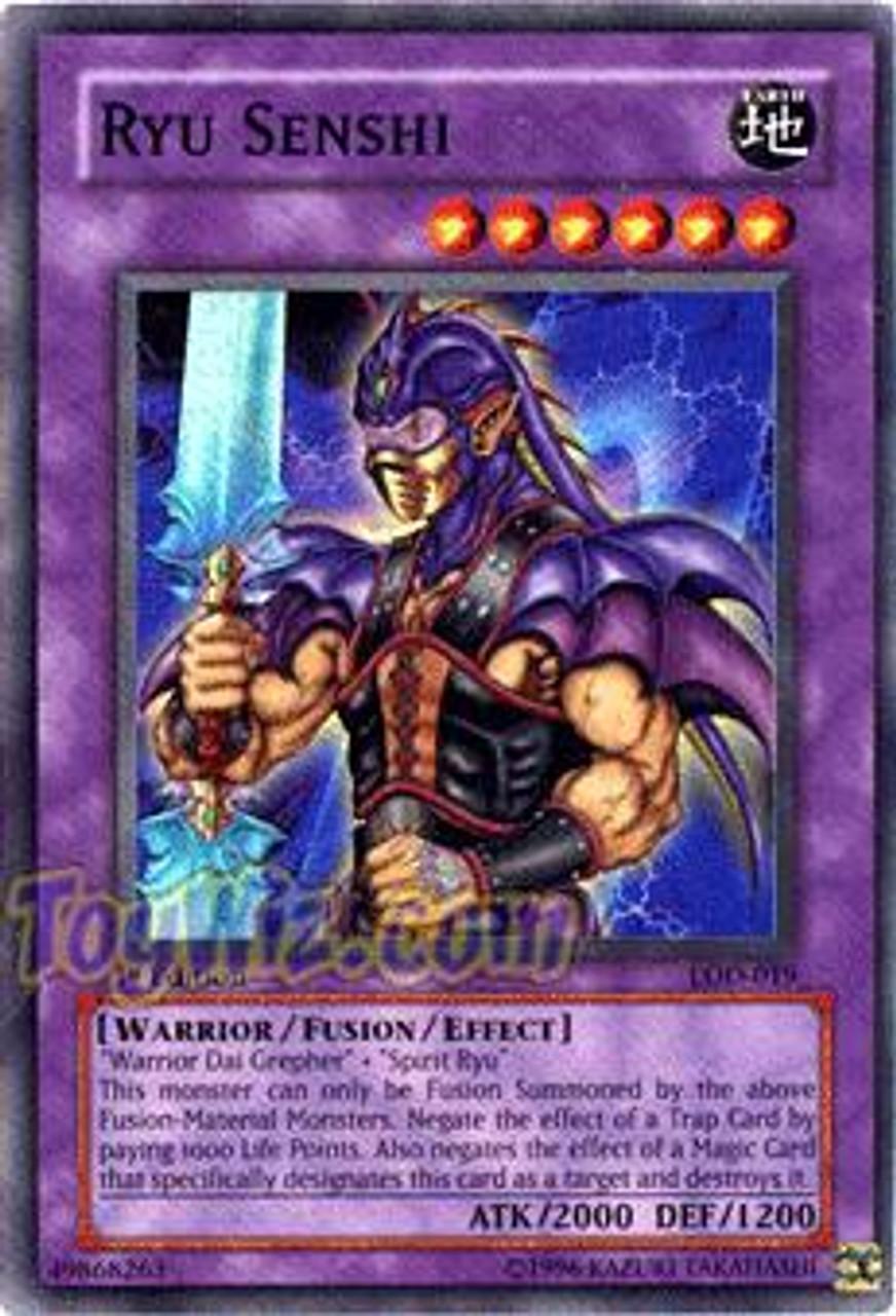 YuGiOh Legacy of Darkness Super Rare Ryu Senshi LOD-019