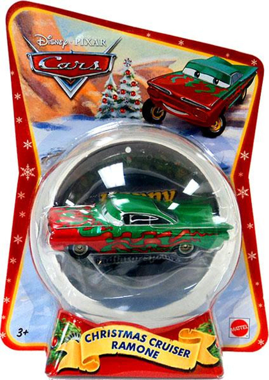 Disney Cars Christmas Package Christmas Cruiser Ramone Exclusive Diecast Car [2011]