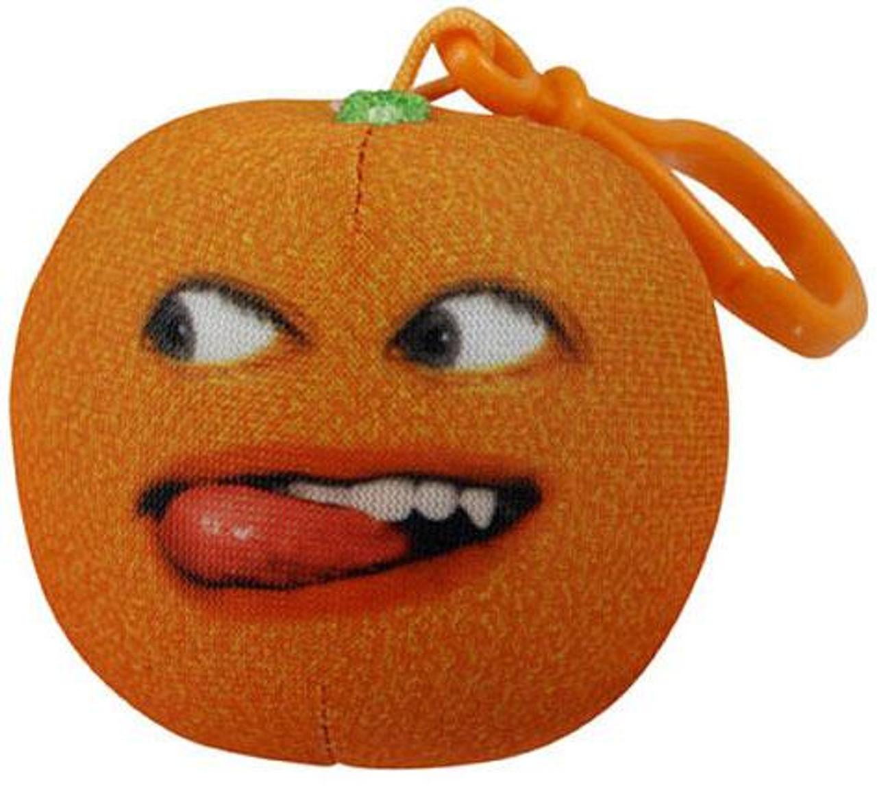 Annoying Orange Take-Alongs Nyan Nyan Orange 2.25-Inch Plush Clip On [Talking]