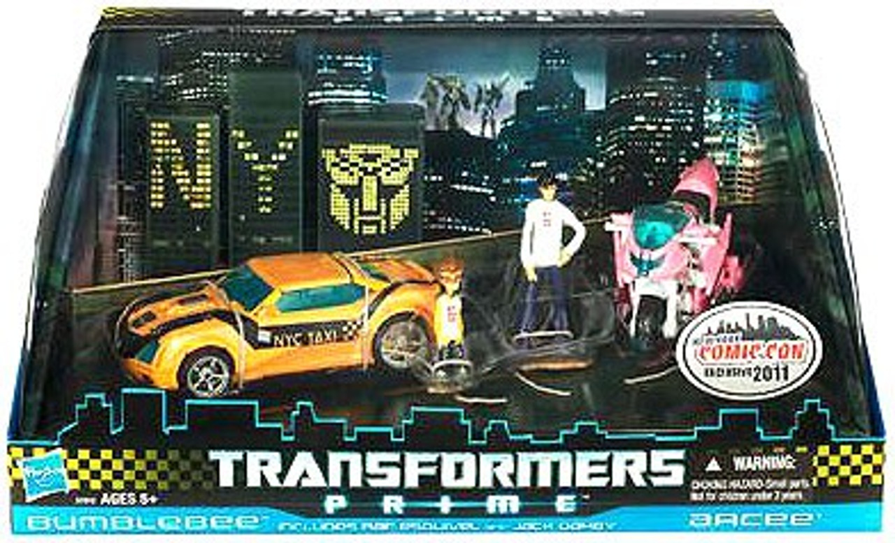 Transformers Prime Exclusives Bumblebee & Arcee Exclusive Action Figure 2-Pack