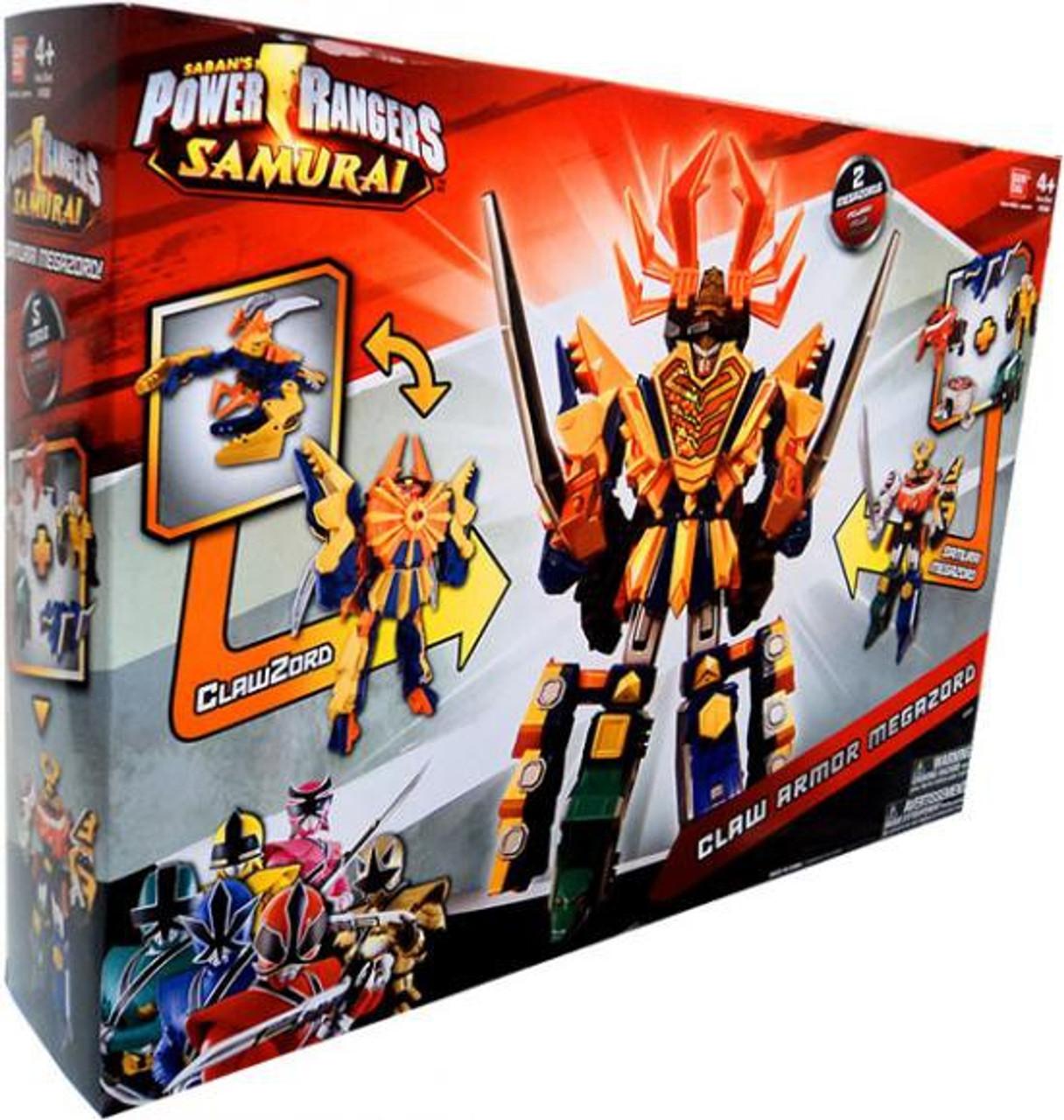 Power Rangers Samurai Deluxe DX Claw Armor Megazord Action Figure