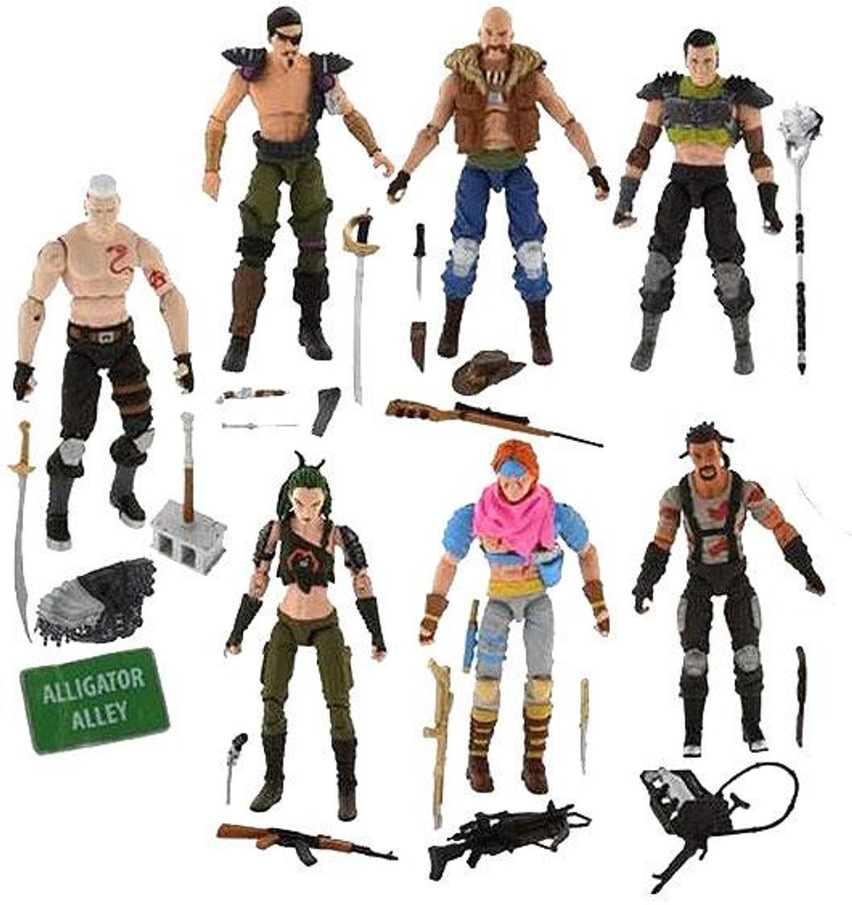 GI Joe Dreadnok's Battle Exclusive Action Figure Set