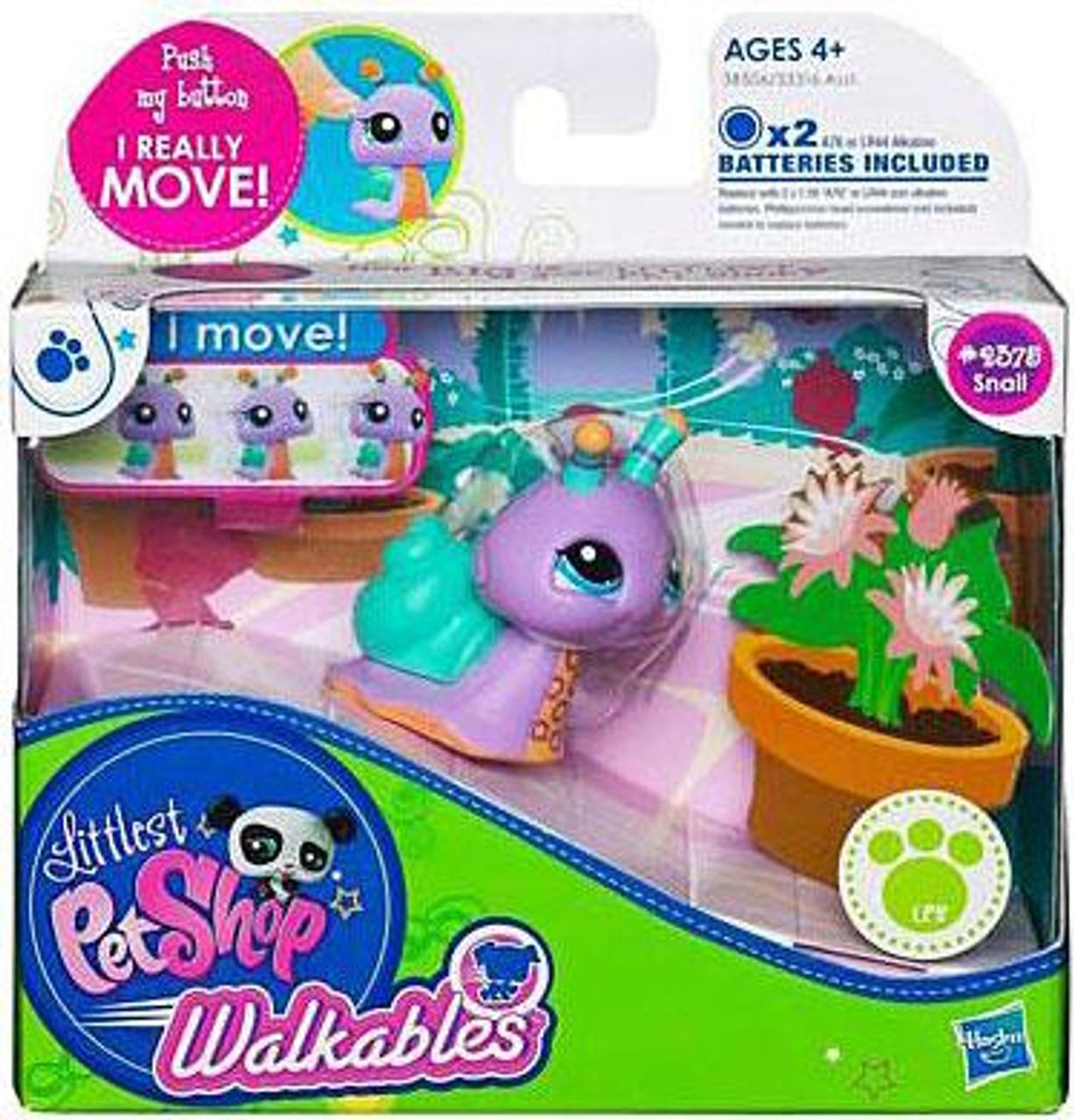 Littlest Pet Shop Walkables Snail Figure #2375 [Purple]