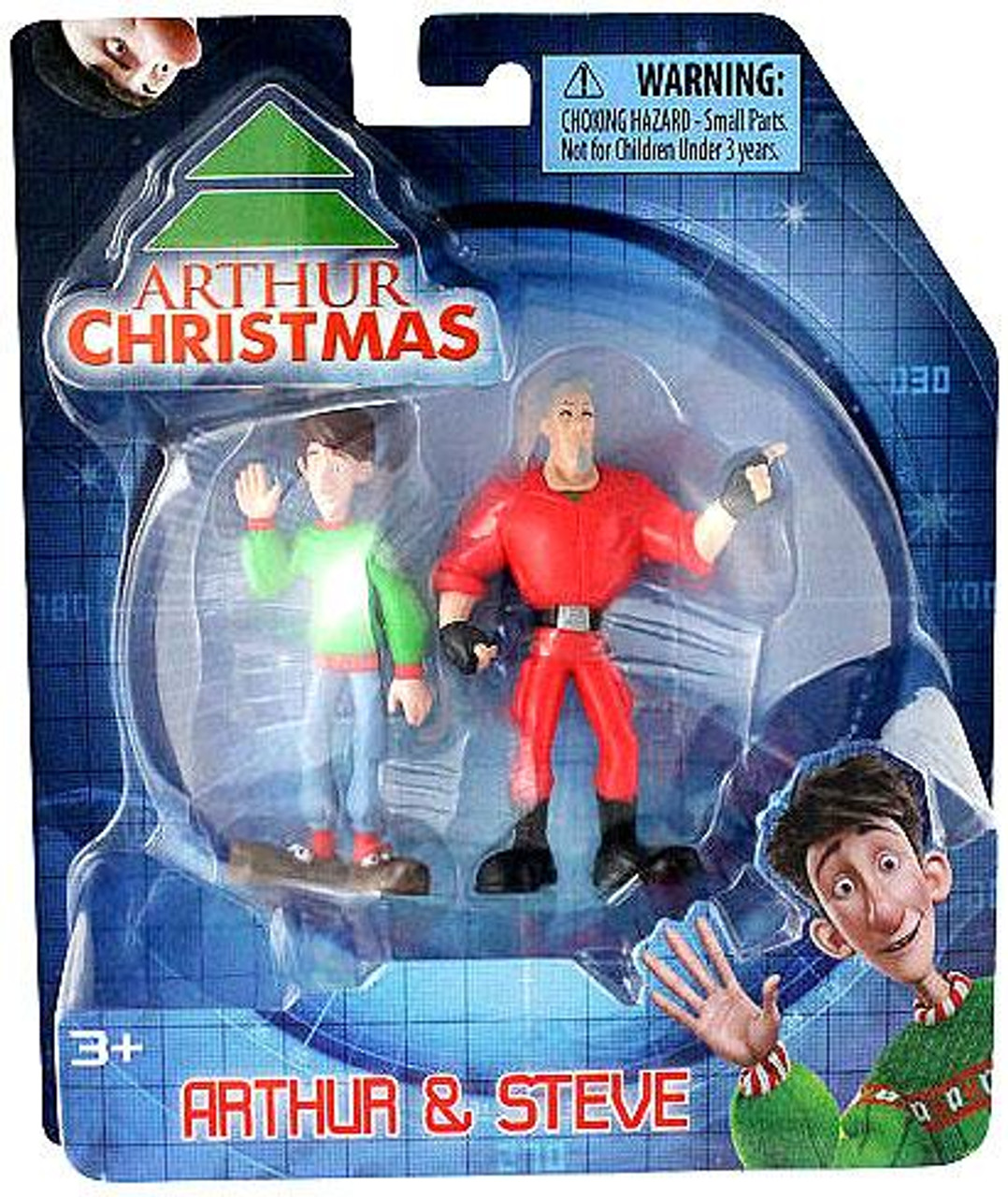 Arthur Christmas Arthur & Steve Mini Figure 2-Pack