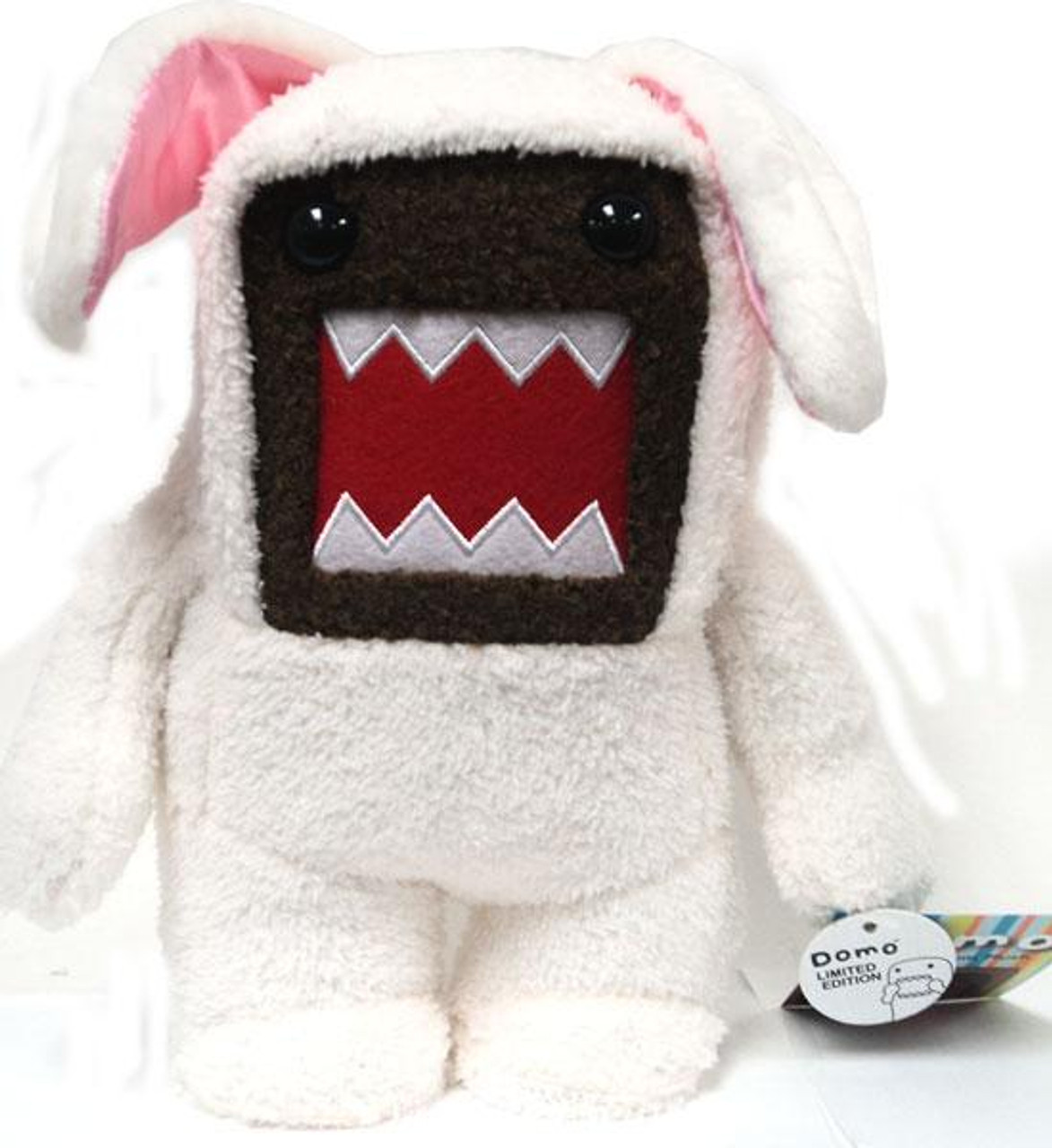 Easter Bunny Domo 9-Inch Plush Figure [White Outfit]