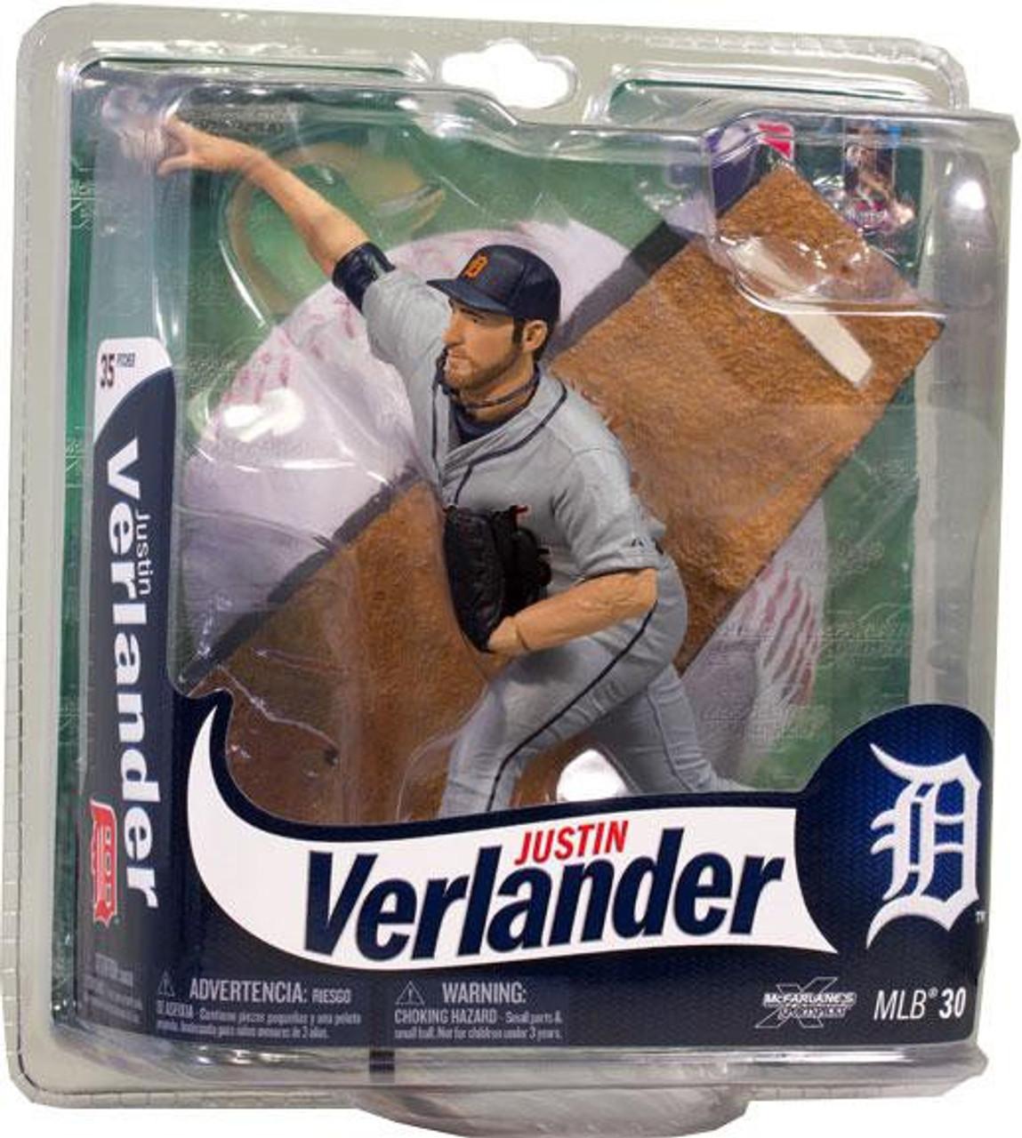 McFarlane Toys MLB Detroit Tigers Sports Picks Series 30 Justin Verlander Action Figure
