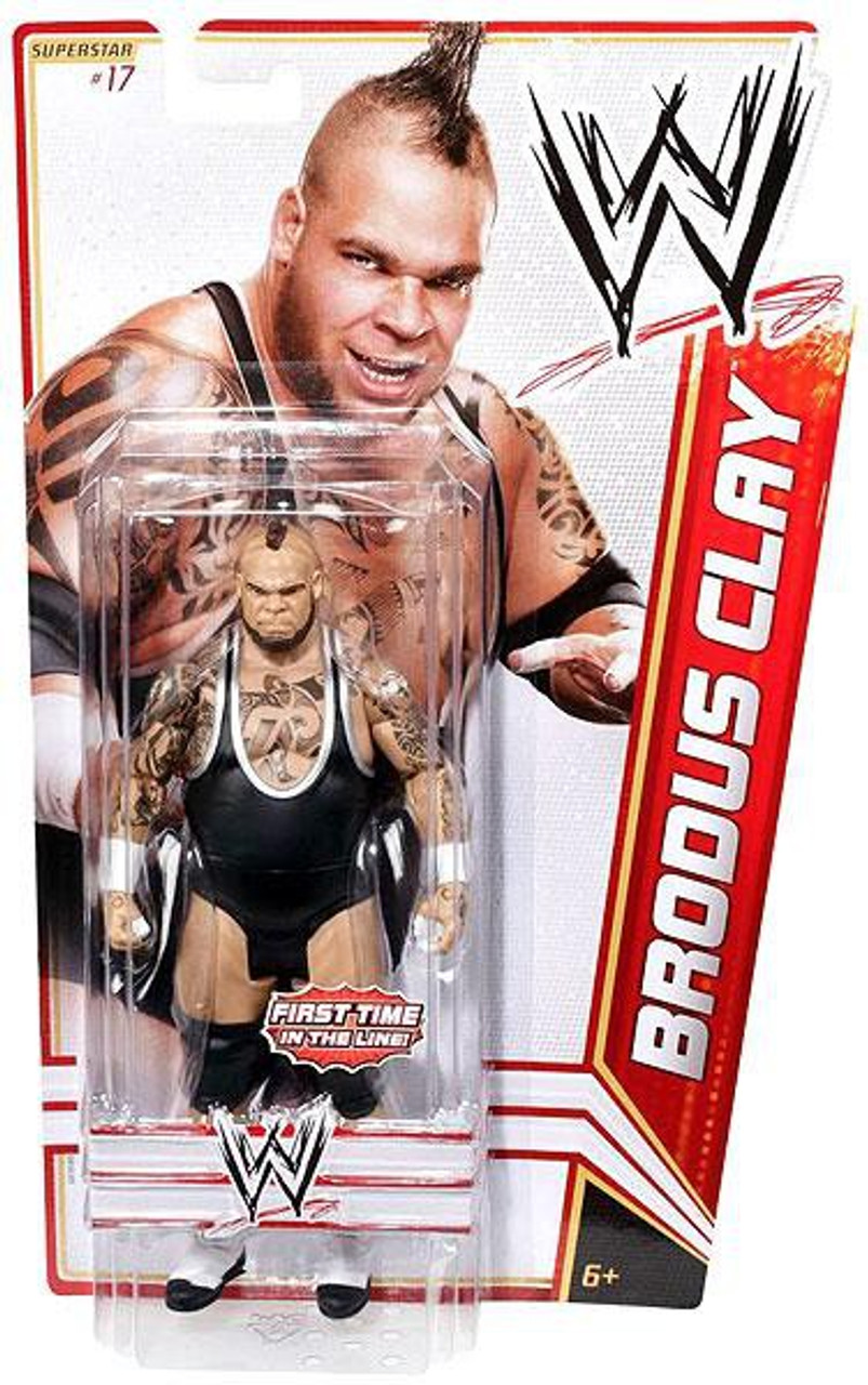 WWE Wrestling Series 15 Brodus Clay Action Figure #17