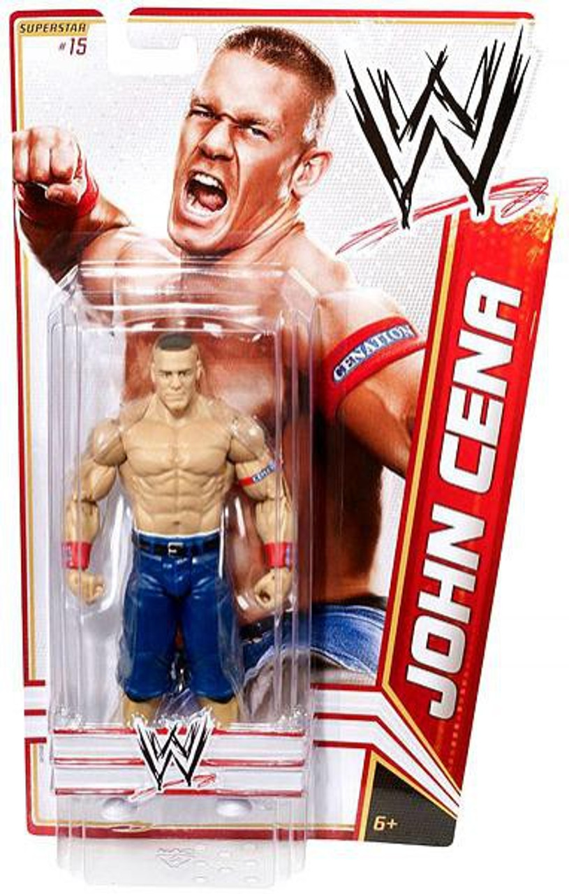 WWE Wrestling Series 15 John Cena Action Figure #15