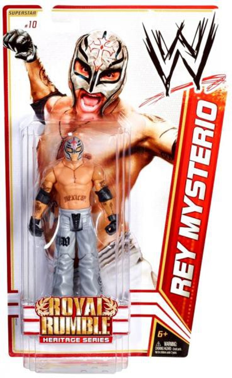 WWE Wrestling Series 14 Rey Mysterio Action Figure #10