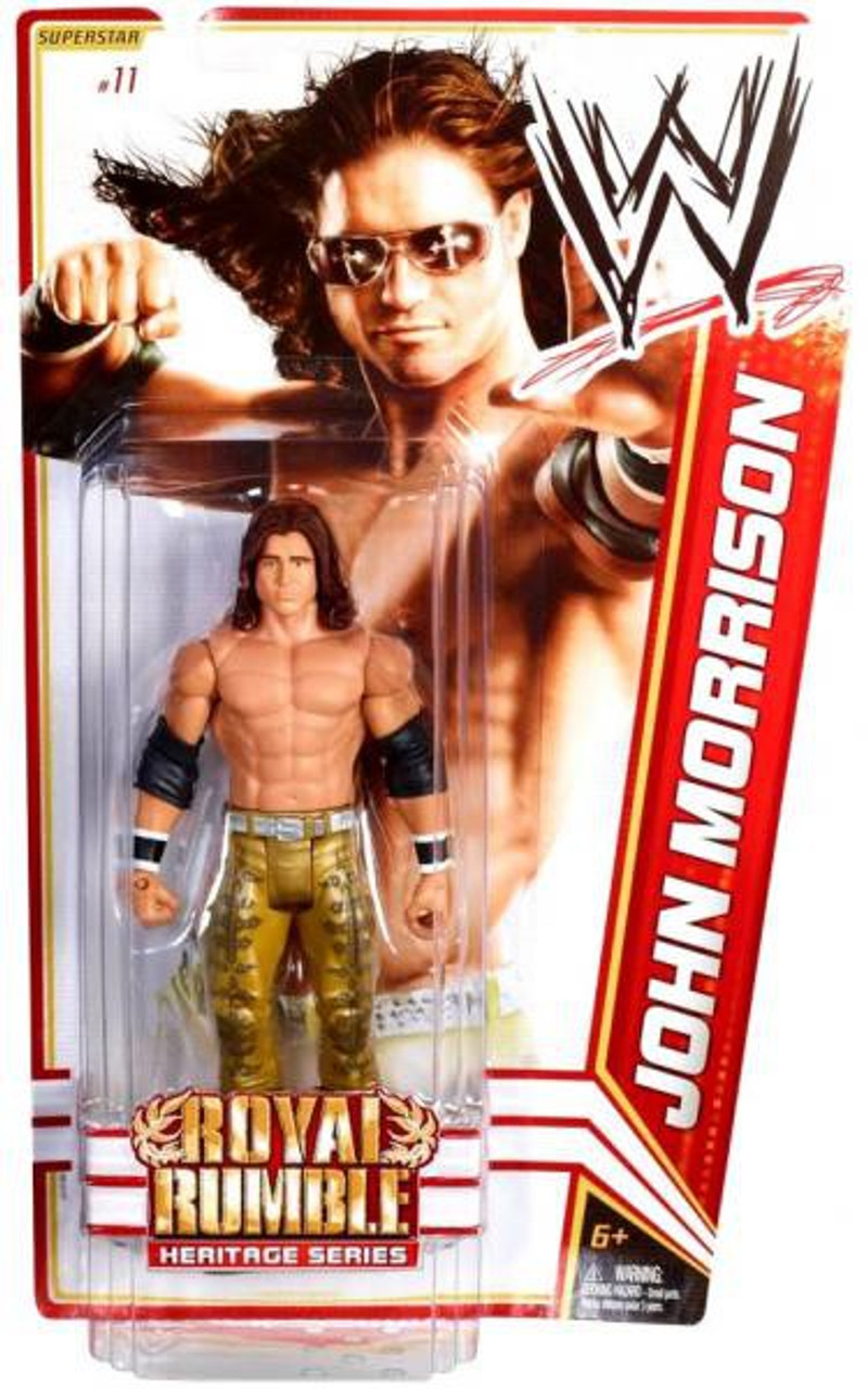 WWE Wrestling Series 14 John Morrison Action Figure #11