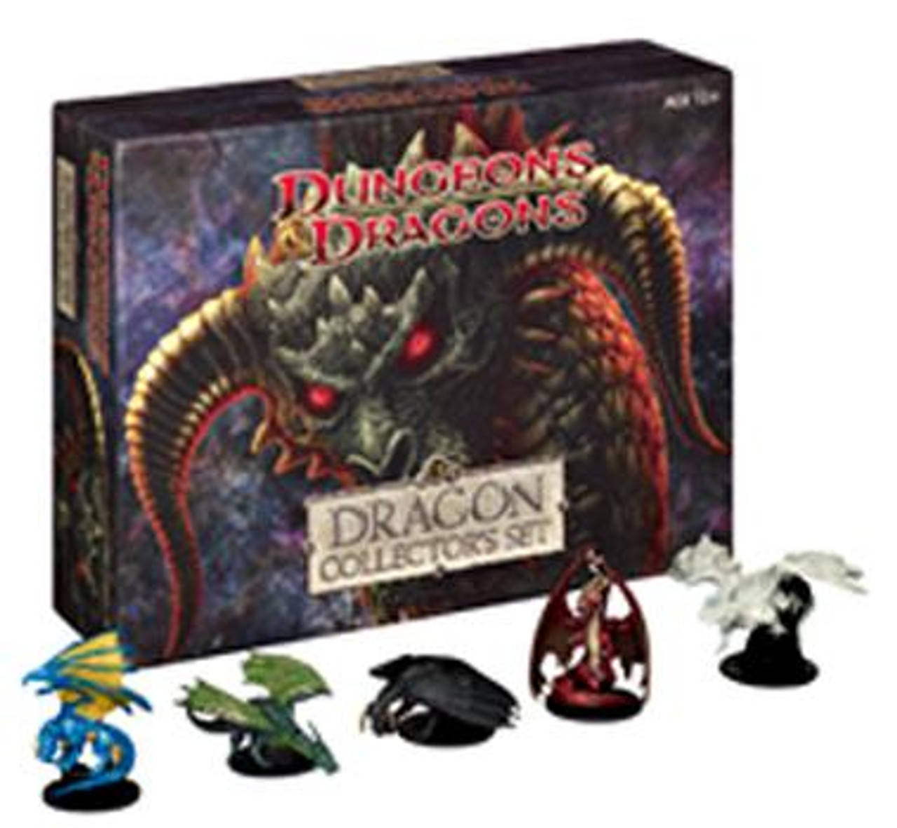 Dungeons & Dragons Miniatures Limited Edition Dragon Collector's Set