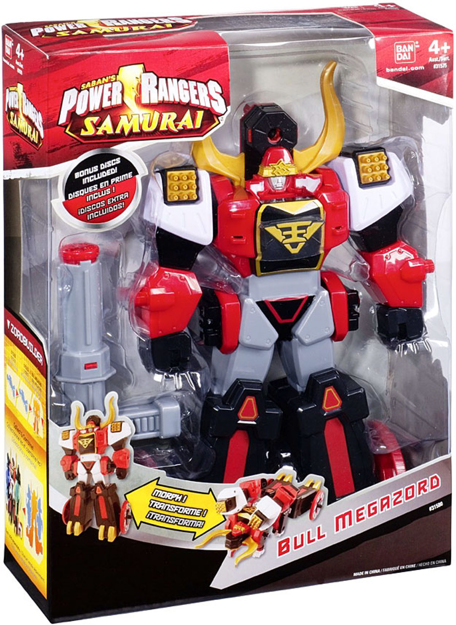 Power Rangers Samurai Deluxe DX Bull Megazord Action Figure