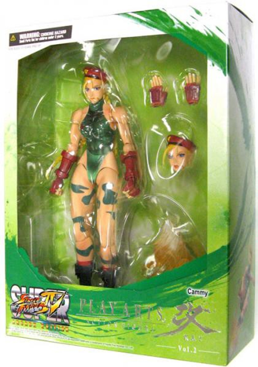 Super Street Fighter IV Play Arts Kai Series 2 Cammy Action Figure
