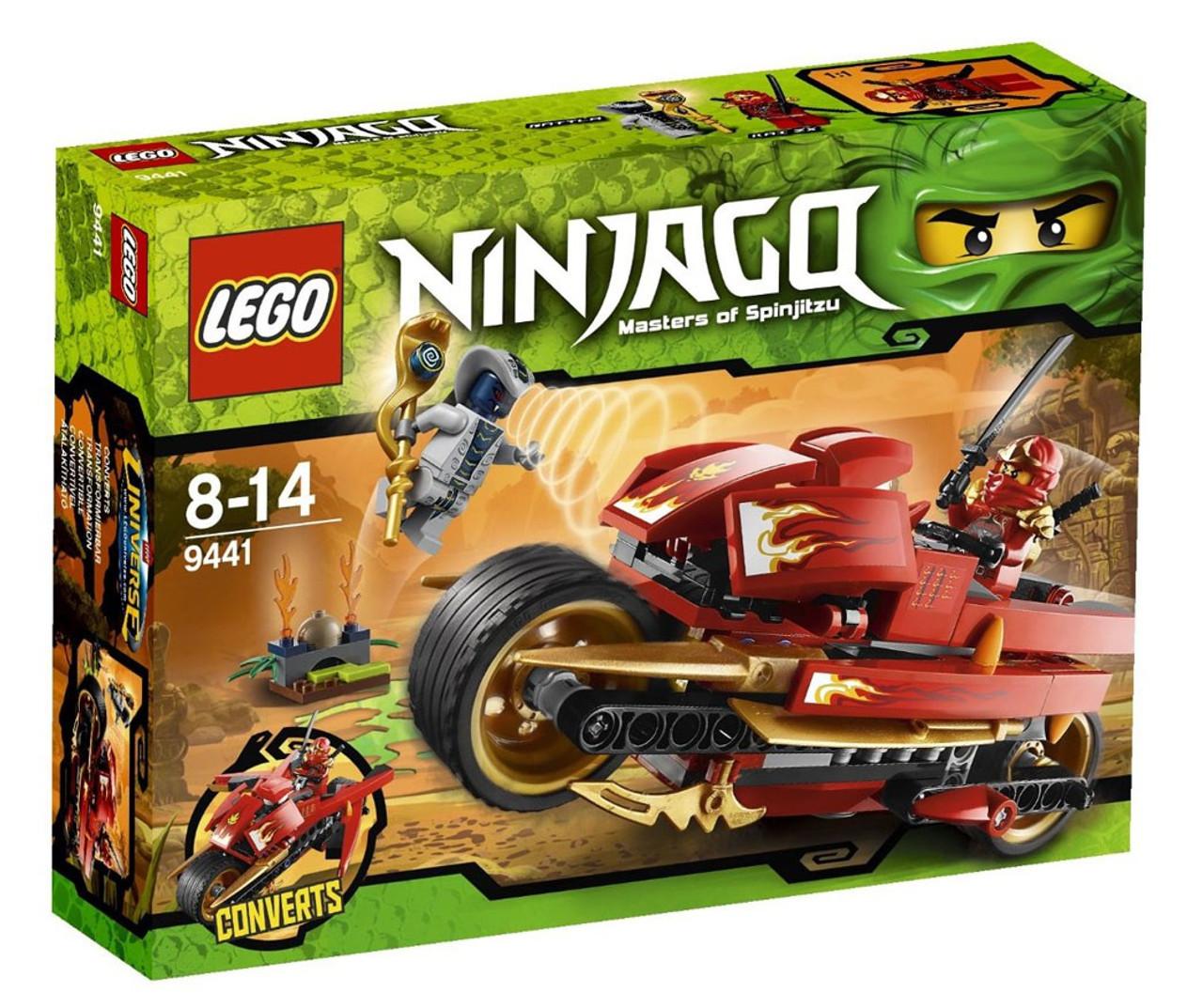 LEGO Ninjago Kai's Blade Cycle Set #9441