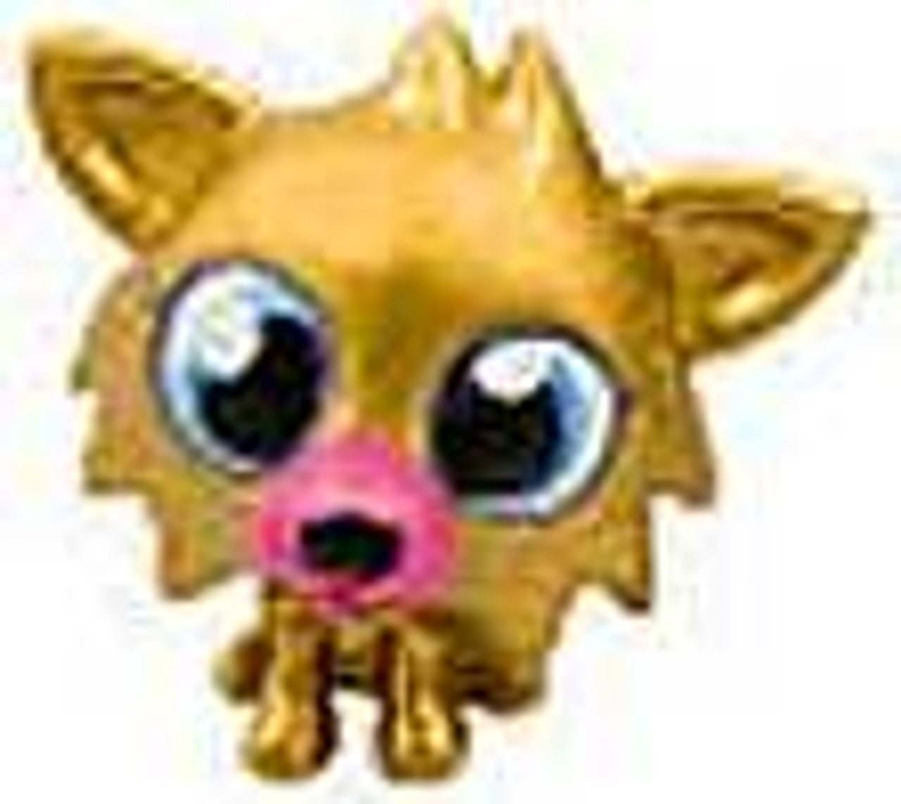 Moshi Monsters Moshlings Gold Limited Edition White Fang 1.5-Inch Mini Figure